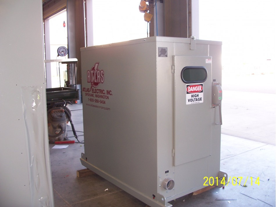 Atlas Electric 15 KV ABB 600 amp Skid Mounted Portable Mining Switchgear