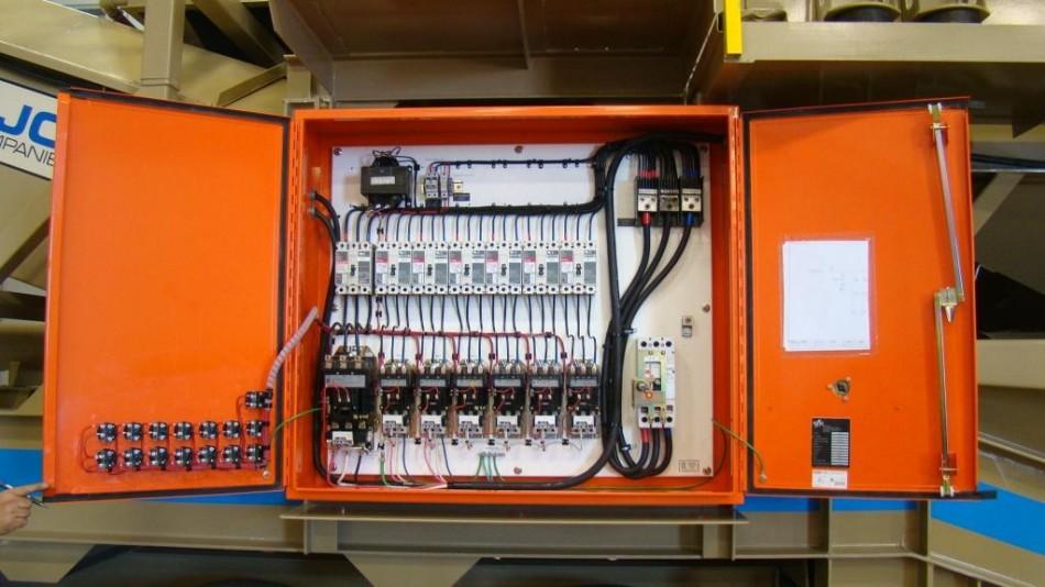 Wash Plant Custom Control Cabinet