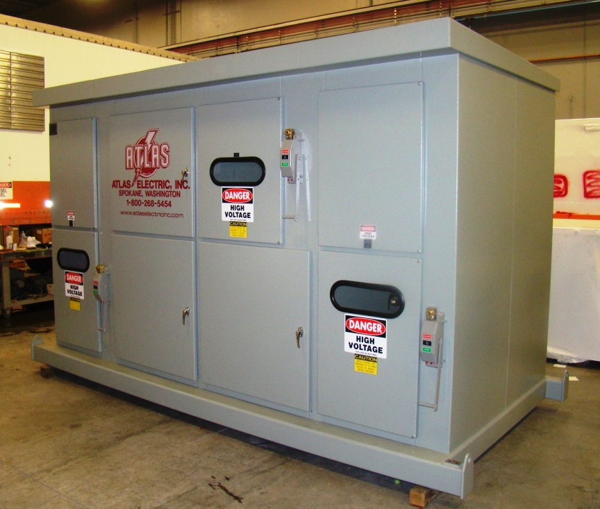 Unit Substation Switchgear Lineup