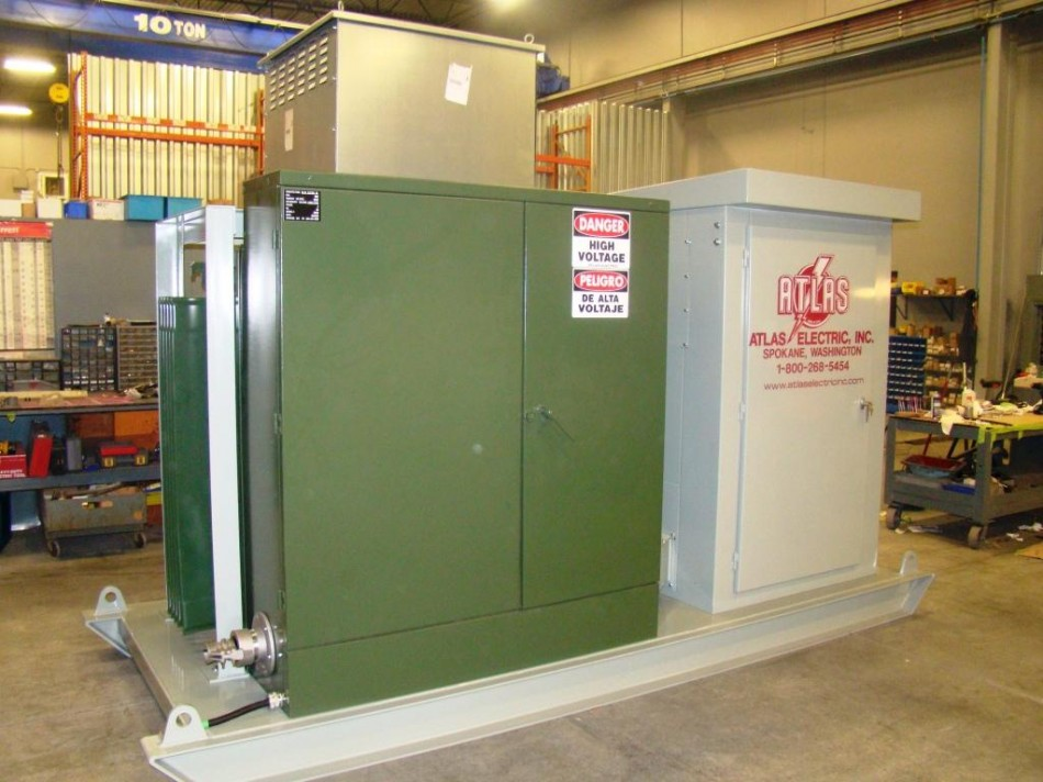 Portable Skid Mounted Substation
