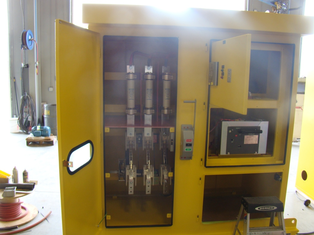 ABB 5 KV Skid Mounted Portable Mining Switchgear