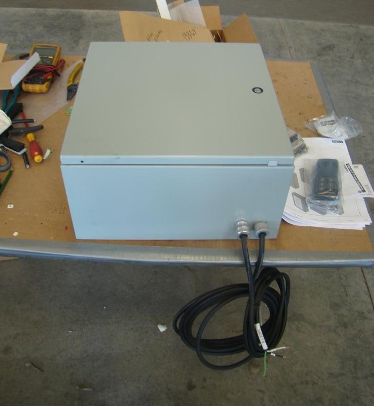 Vibrating Grizzly Feeder Custom Control Cabinet