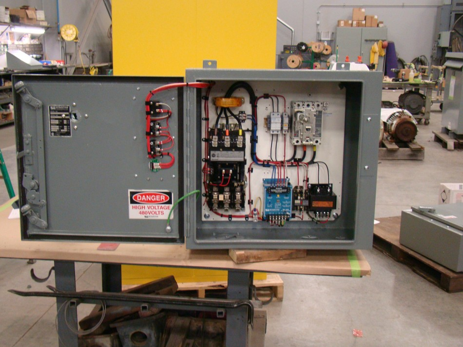 Allen Bradley Size 3 Combination Starters with GFCI Monitors