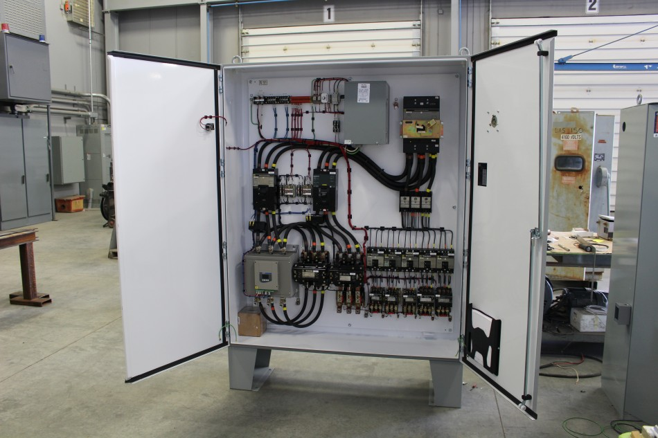Custom Control Cabinet with 200HP Soft Start