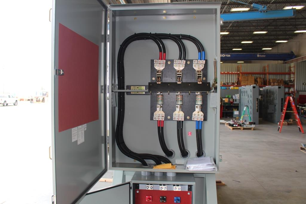 500 KVA Skid Mounted Portable Substation