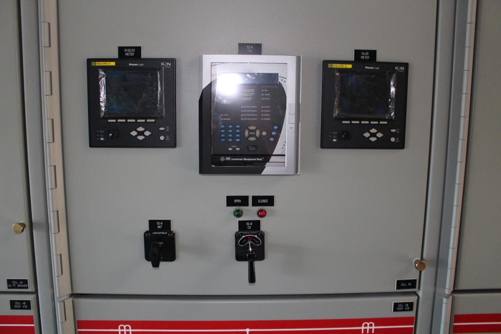 Atlas Electric Custom Manufactured E-House with GE PowerVac 15KV Switchgear