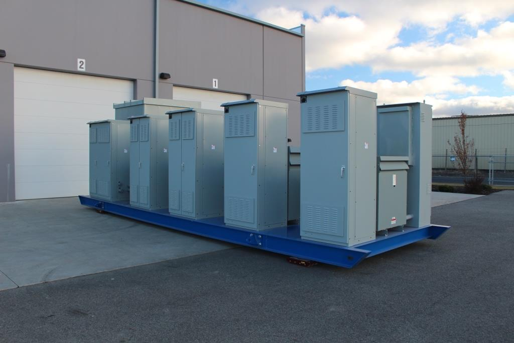Atlas Electric Skid Mounted Power Distribution Center
