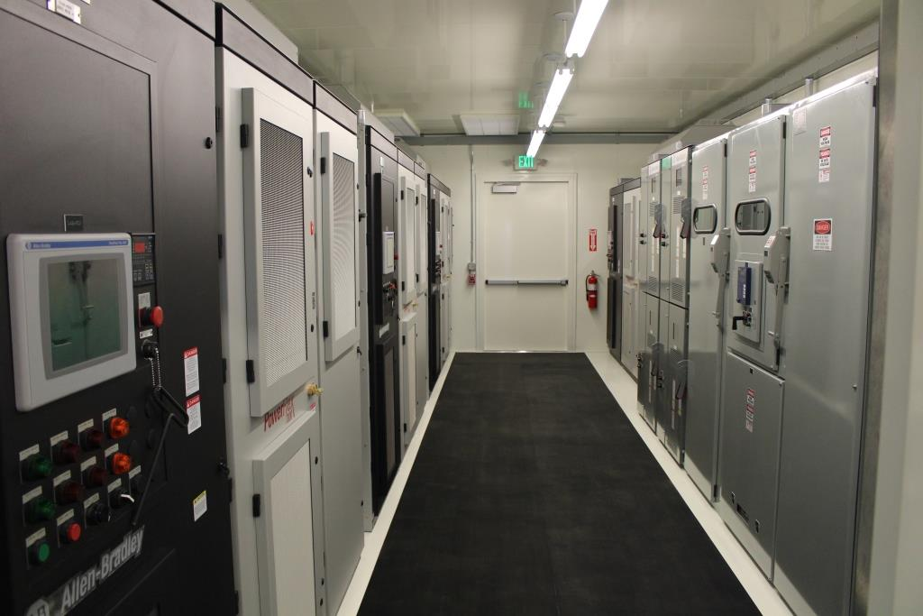 Atlas Electric Power Distribution Center E-House