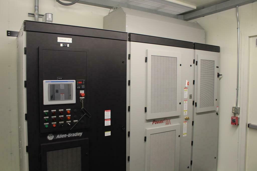 Atlas Electric Power Distribution Center E-House