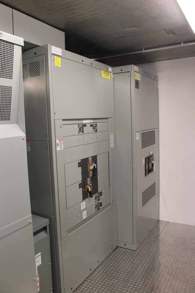 Container Housed Power Distribution Center