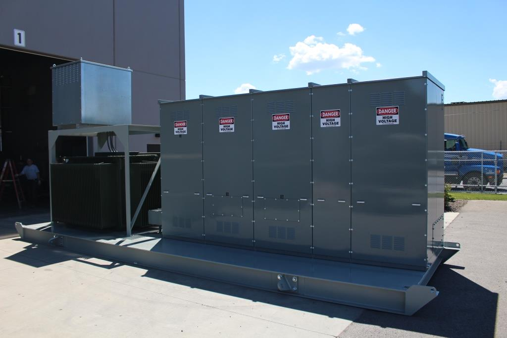 Atlas Electric Skid Mounted Portable Unit Substation