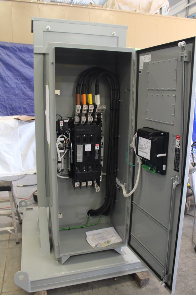 Skid Mounted Portable Power Distribution Center