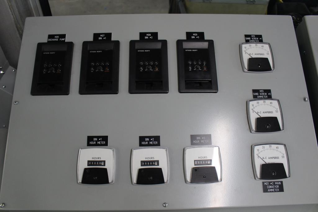 Container Housed Power Distribution Center Control Panel