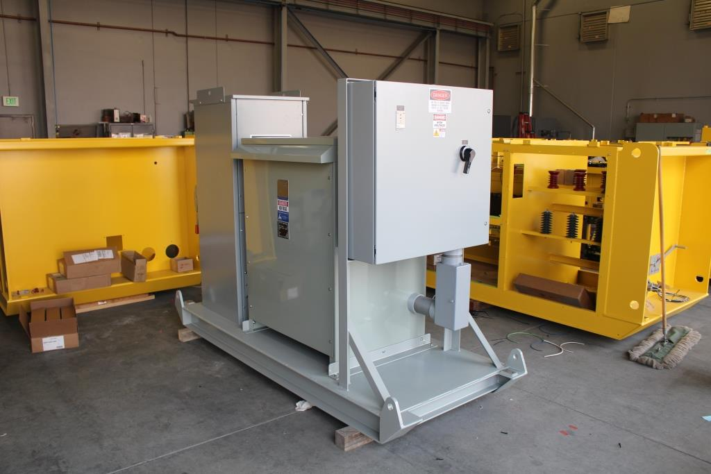 Skid Mounted Portable Unit Substation