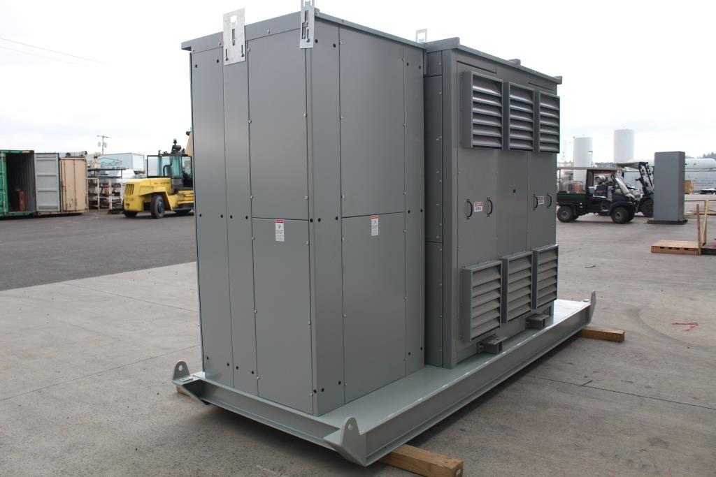 Skid Mounted Atlas Electric 750 KVA MGM Dry Transformer