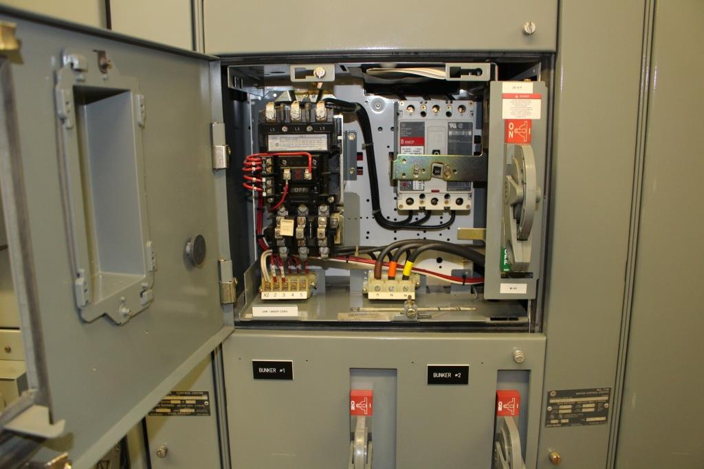 Crushing Plant Custom Motor Control Power Distribution Container MCC Bucket