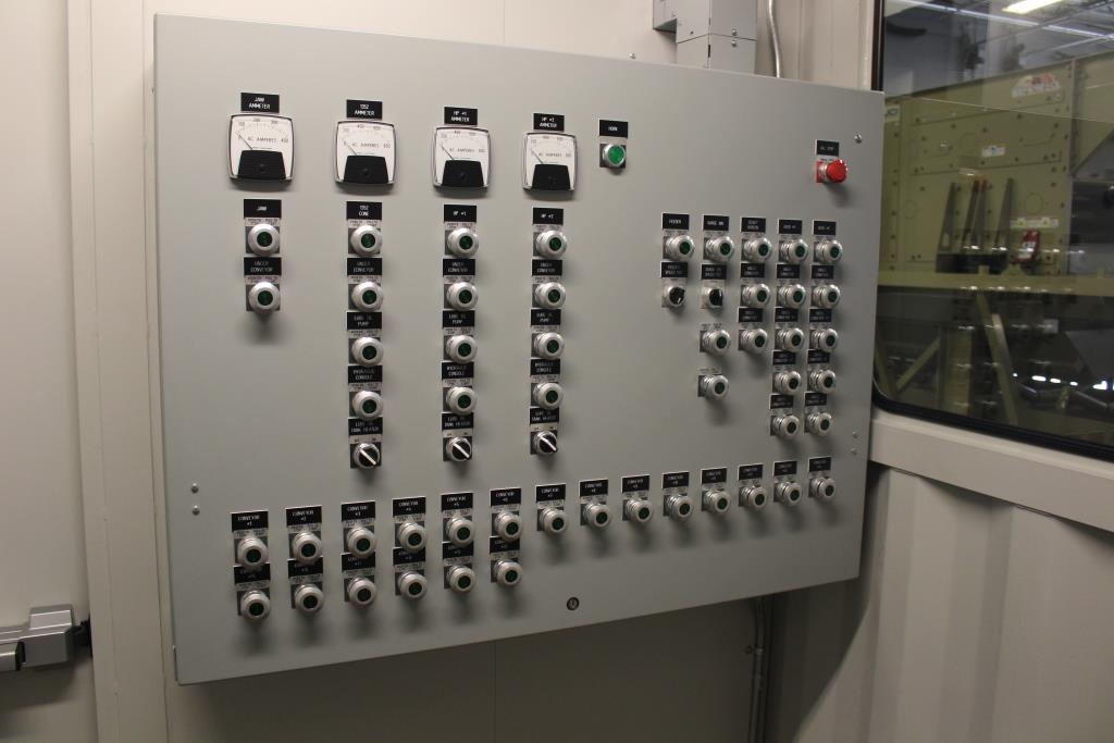 Crushing Plant Custom Motor Control Power Distribution Container Control Panel