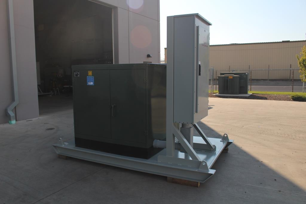 Four each Skid Mounted Portable Substations