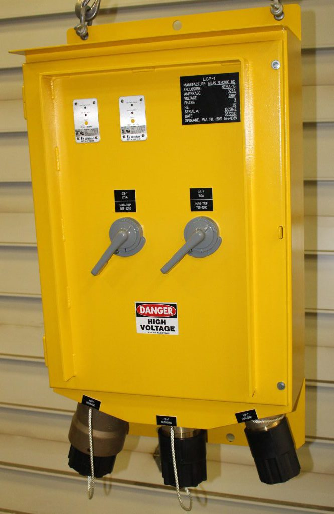 Atlas Electric Extra Heavy Duty Line Continuation Panels