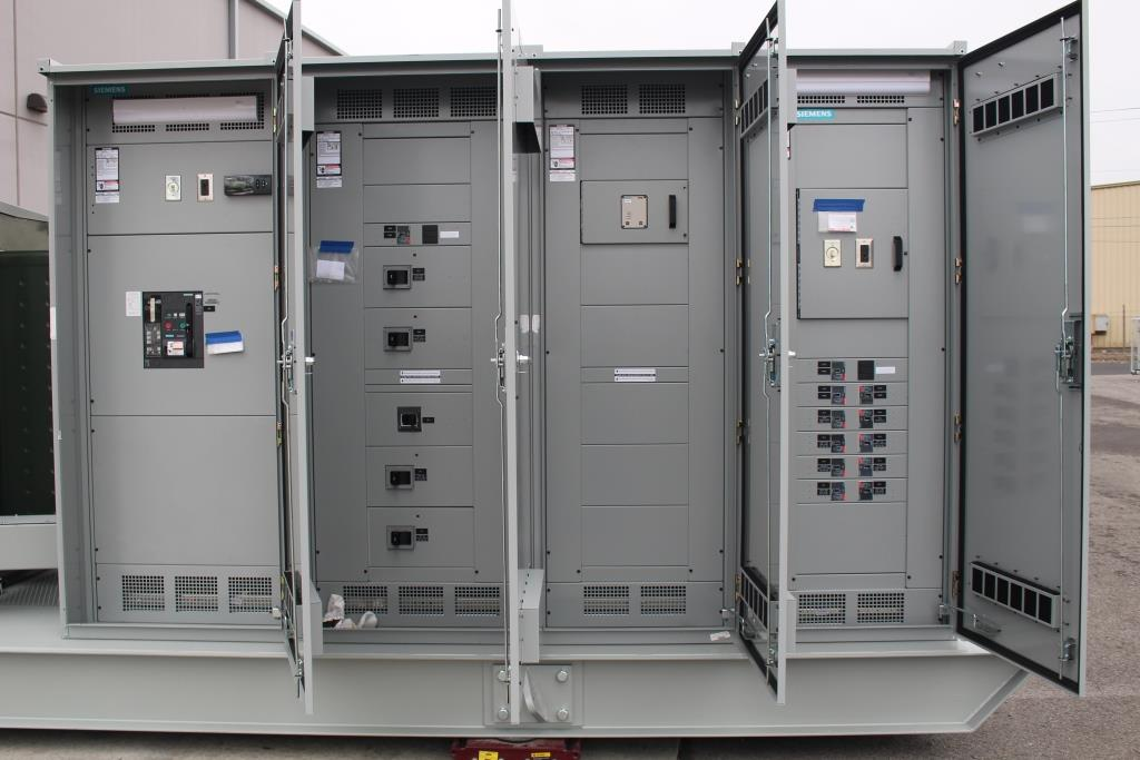 Atlas Electric 3000 KVA Skid Mounted Portable Substation