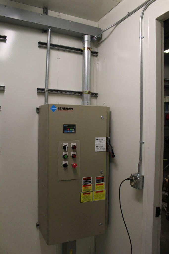 Power Distribution Center (E-House)