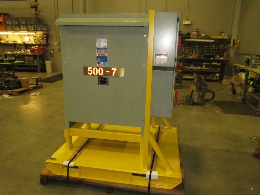 500 KVA Skid Mounted Power Distribution Center