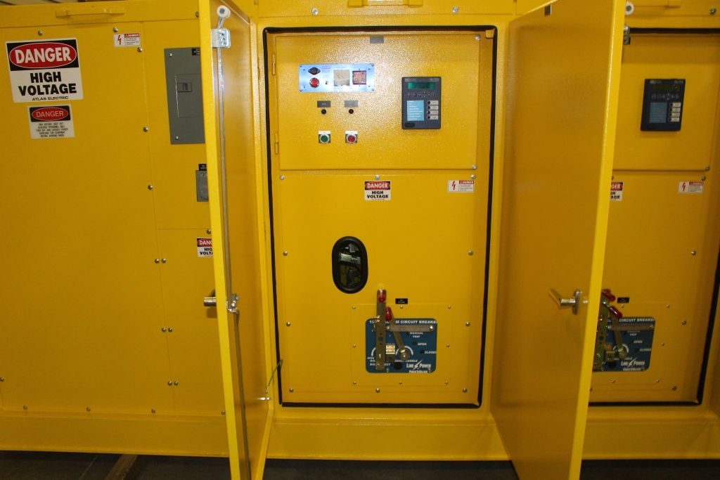 Atlas Electric 5KV 600 Amp Portable Mining Switchgear