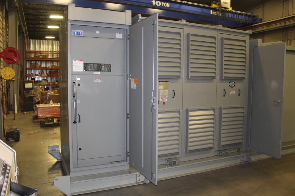 Atlas Electric 1500 Skid Mounted Portable Substation