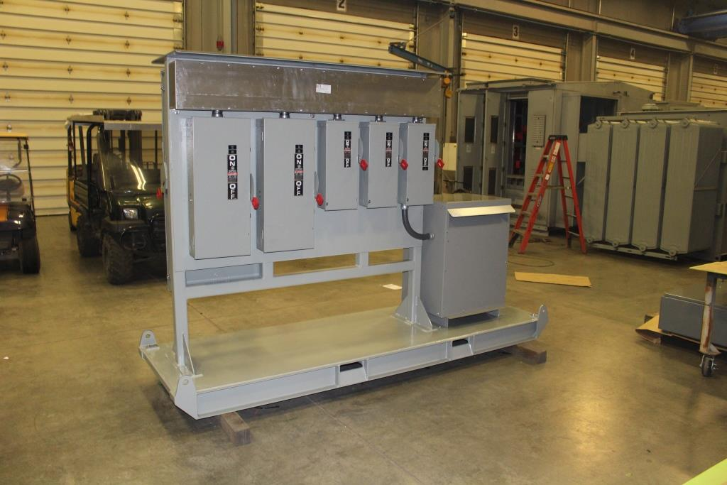 Atlas Electric Portable Power Distribution Center
