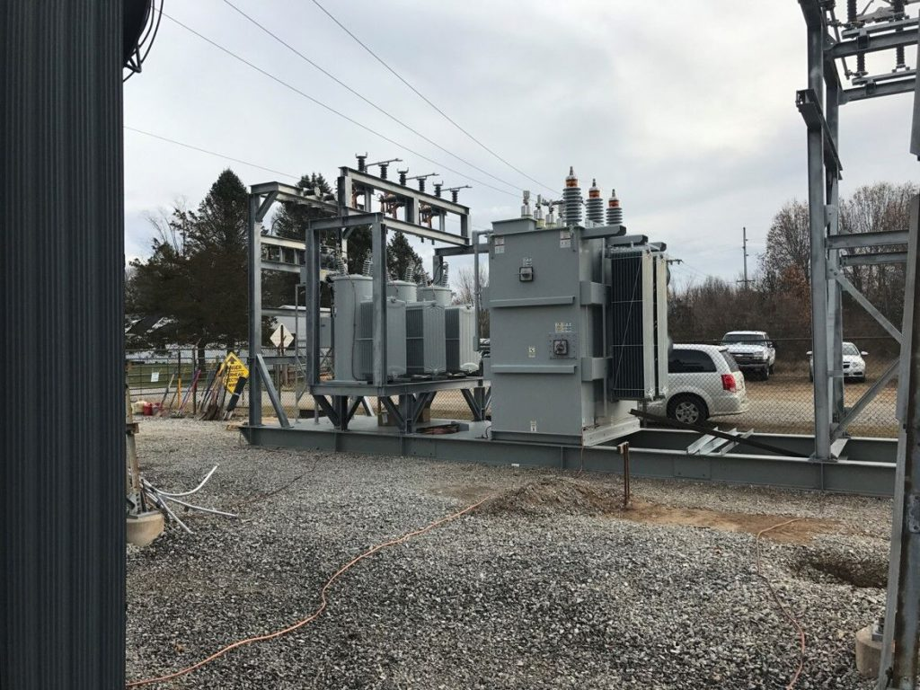 Atlas Electric 10/12.5 MVA Skid Mounted Portable Substation