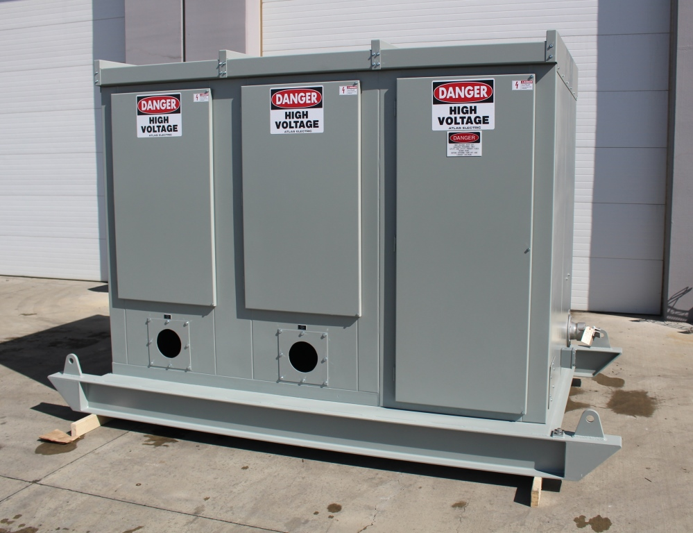 15 KV Skid Mounted Portable Switchgear