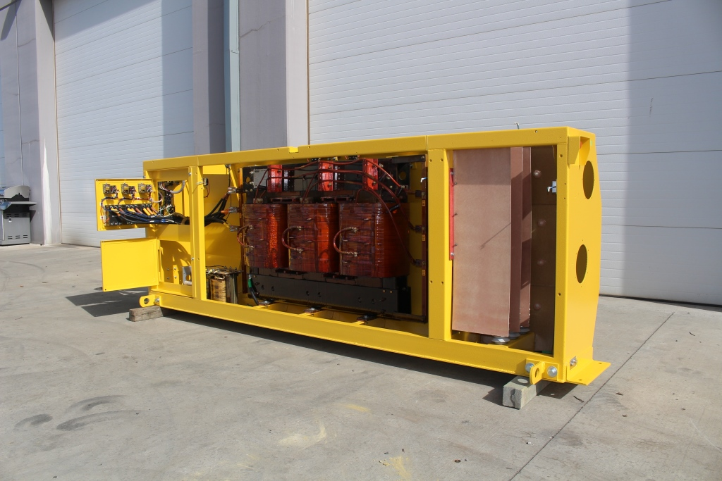 Reconditioned 225 KVA Side Wall Mine Power Center