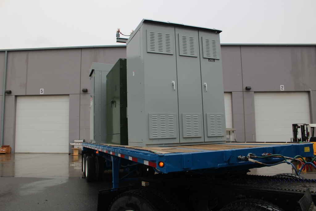 Atlas Electric 2000 KVA Trailer Mounted Portable Substation