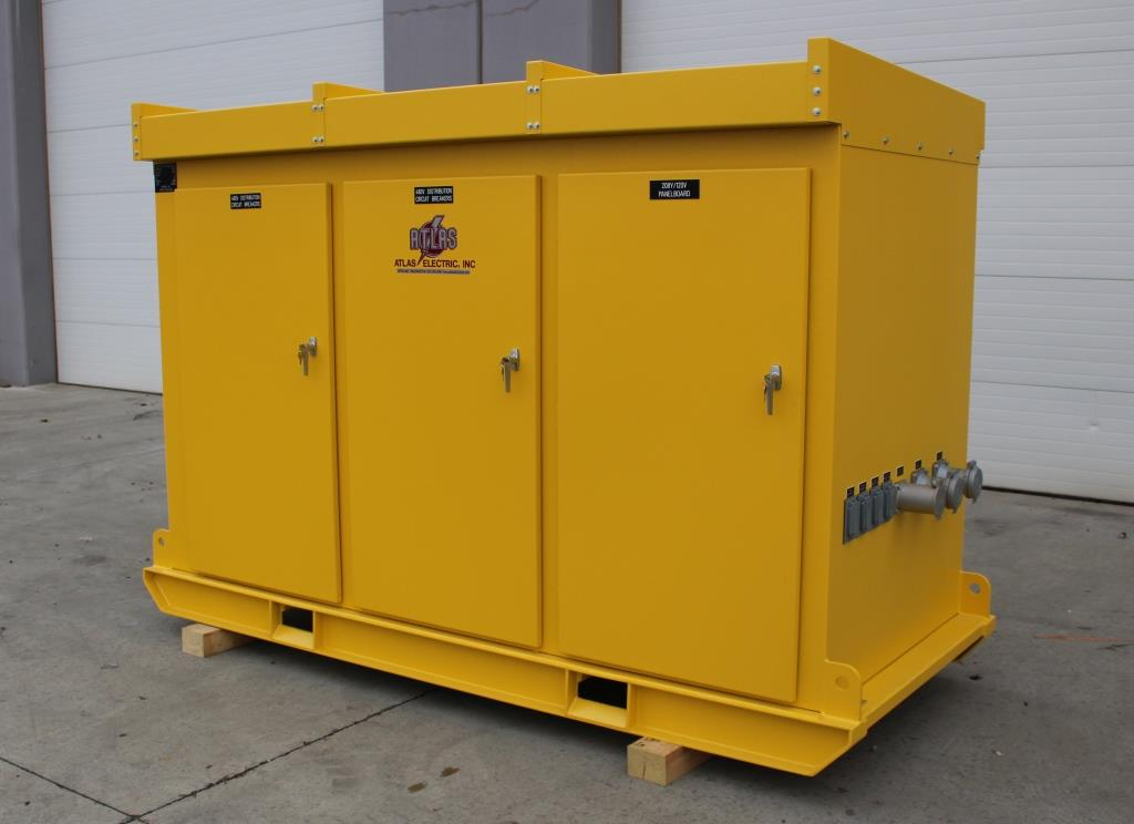 2000 amp 480 Volt Power Distribution Center