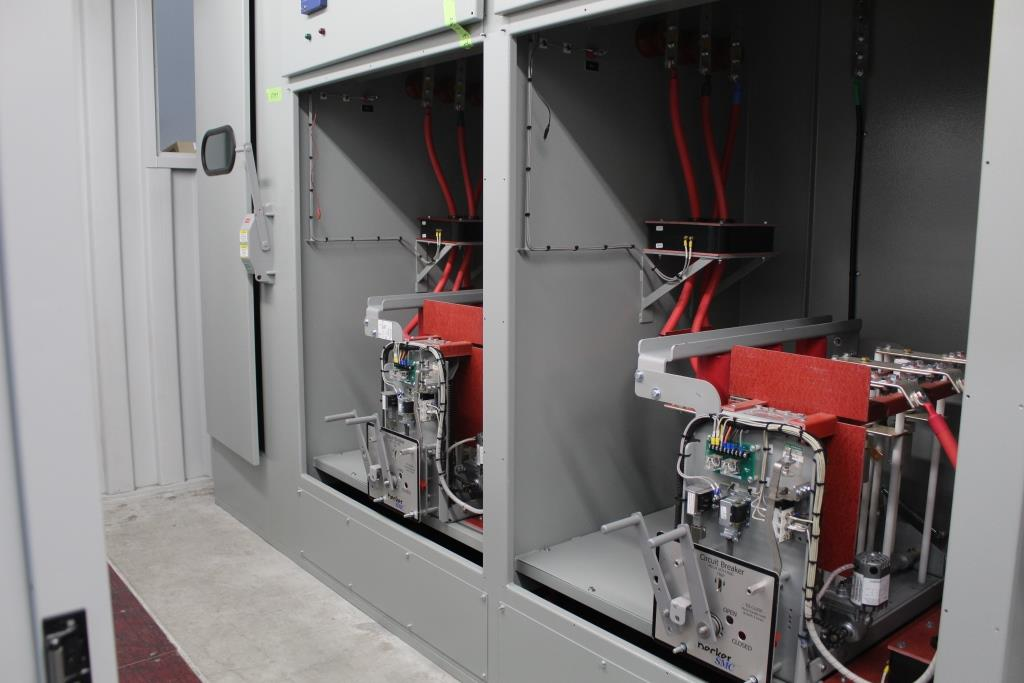 Shipping Container housed Power Distribution Center
