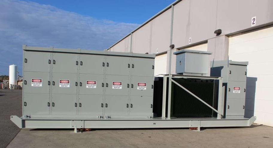 Atlas Electric 3500 KVA Portable Substation