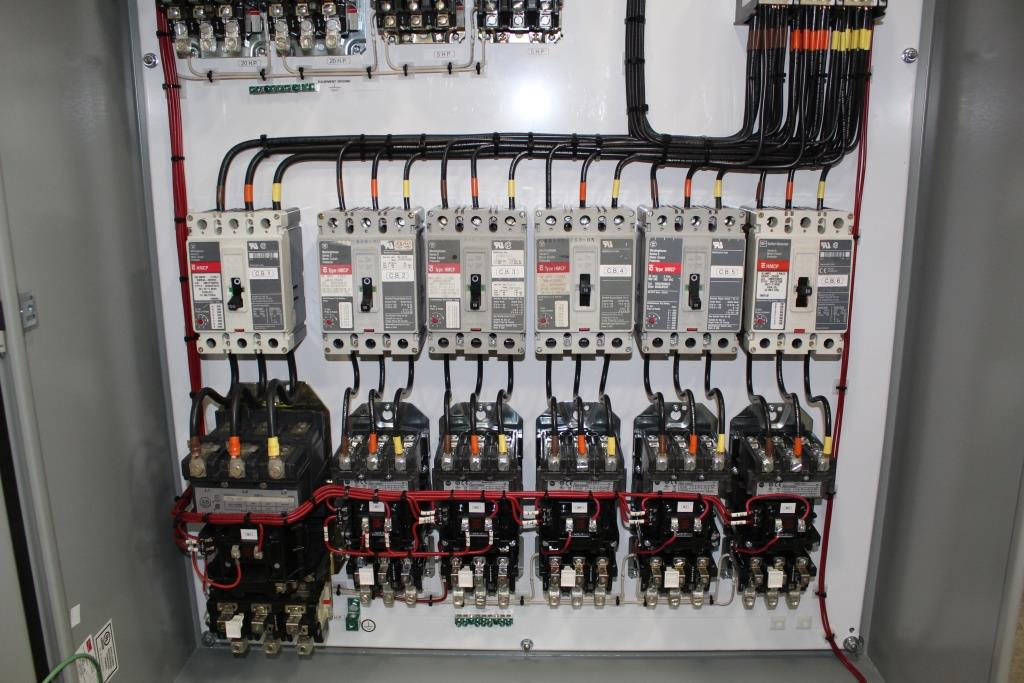 Aggregate Wash Plant Custom Control Cabinet