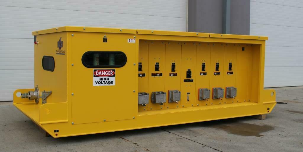 Atlas Electric Custom 750 KVA Mine Power Center