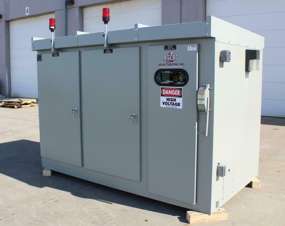 Atlas Electric Custom Manufactured Medium Voltage Switchgear