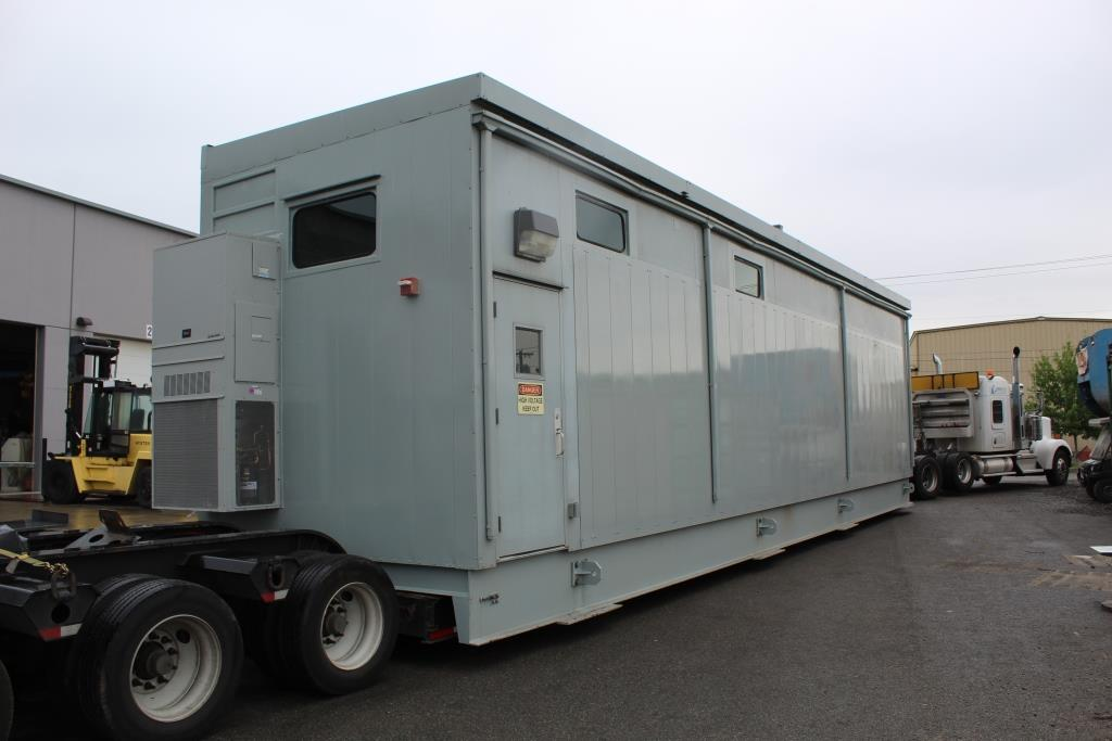 Atlas Electric repurposed one half of a double wide New Surplus E-House