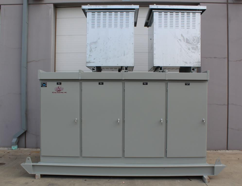 Atlas Electric 15 KV Outdoor Skid Mounted Automatic Transfer Switch