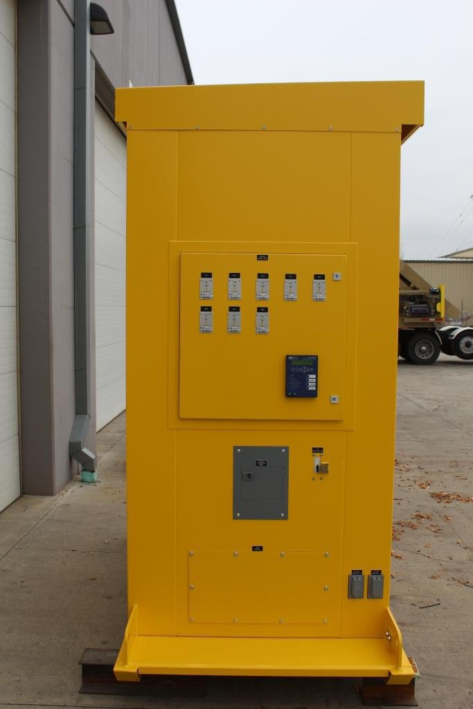 Atlas Electric Custom Manufactured Skid Mounted Distribution Center