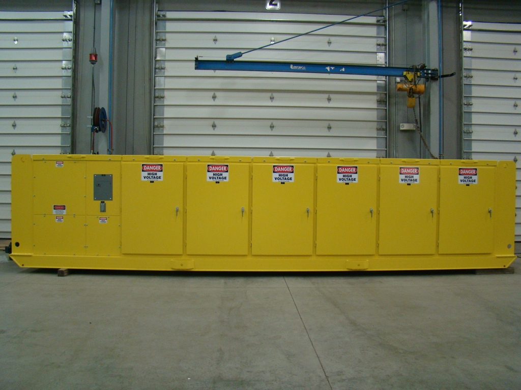 Atlas Electric Mine Duty Skid Mounted Switchgear