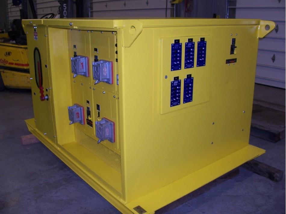 Mine Power Center Rebuild Services