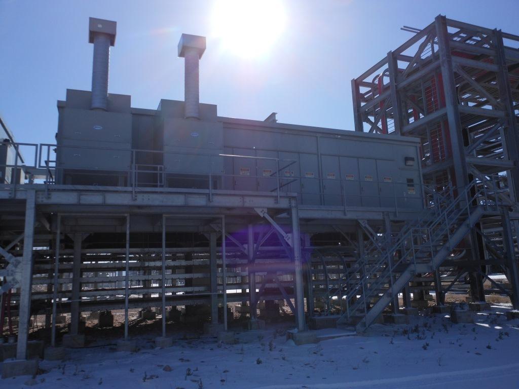 15 KV Power Distribution Center Ehouse