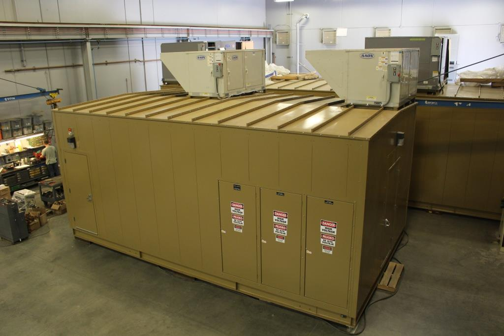 Custom Manufactured Power Distribution Center (E-House)