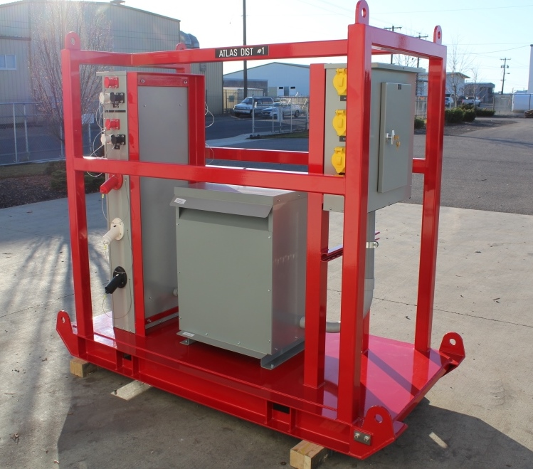 Atlas Electric shipyard quantity of 12 Portable Power Distribution Skids