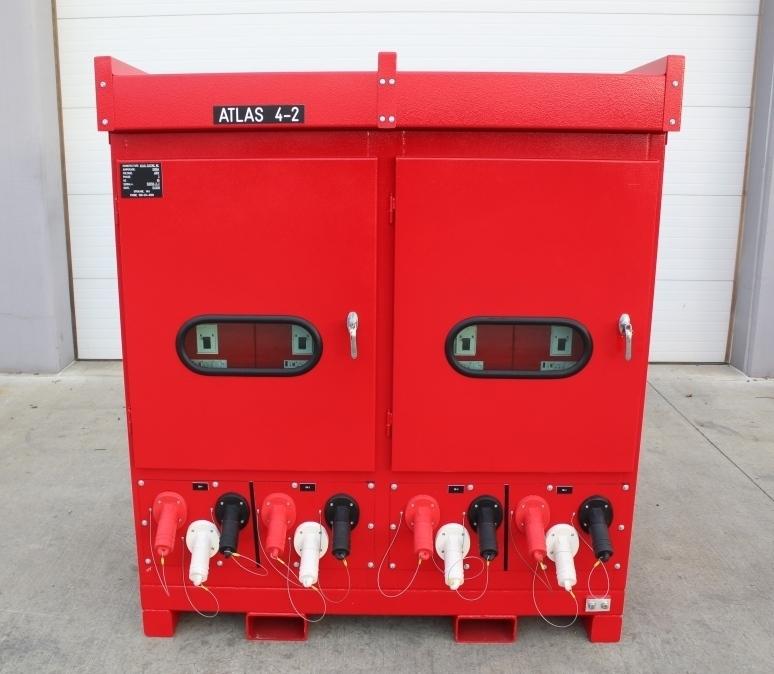 Atlas Electric Shipyard quantity of 4 Portable Power Distribution Skids