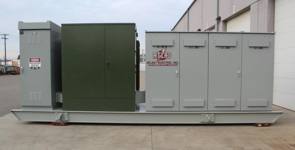Atlas Electric 5 MVA Shipyard Portable Power Distribution System