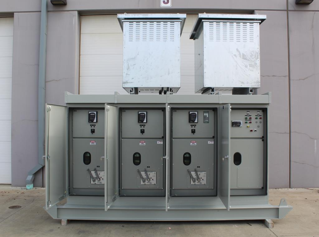 Atlas Electric Skid Mounted Switchgear, 15 KV 600 amp